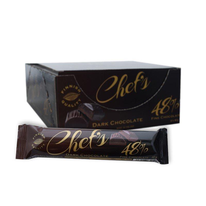 Hel Låda Mörk Choklad 32 x 40g - 78% rabatt