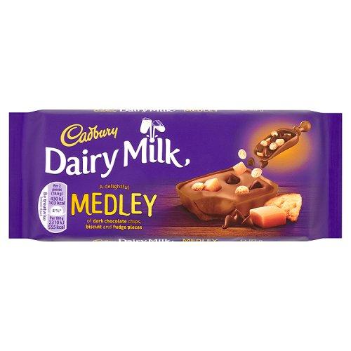 Cadbury Dairy Milk Medley Fudge 93g