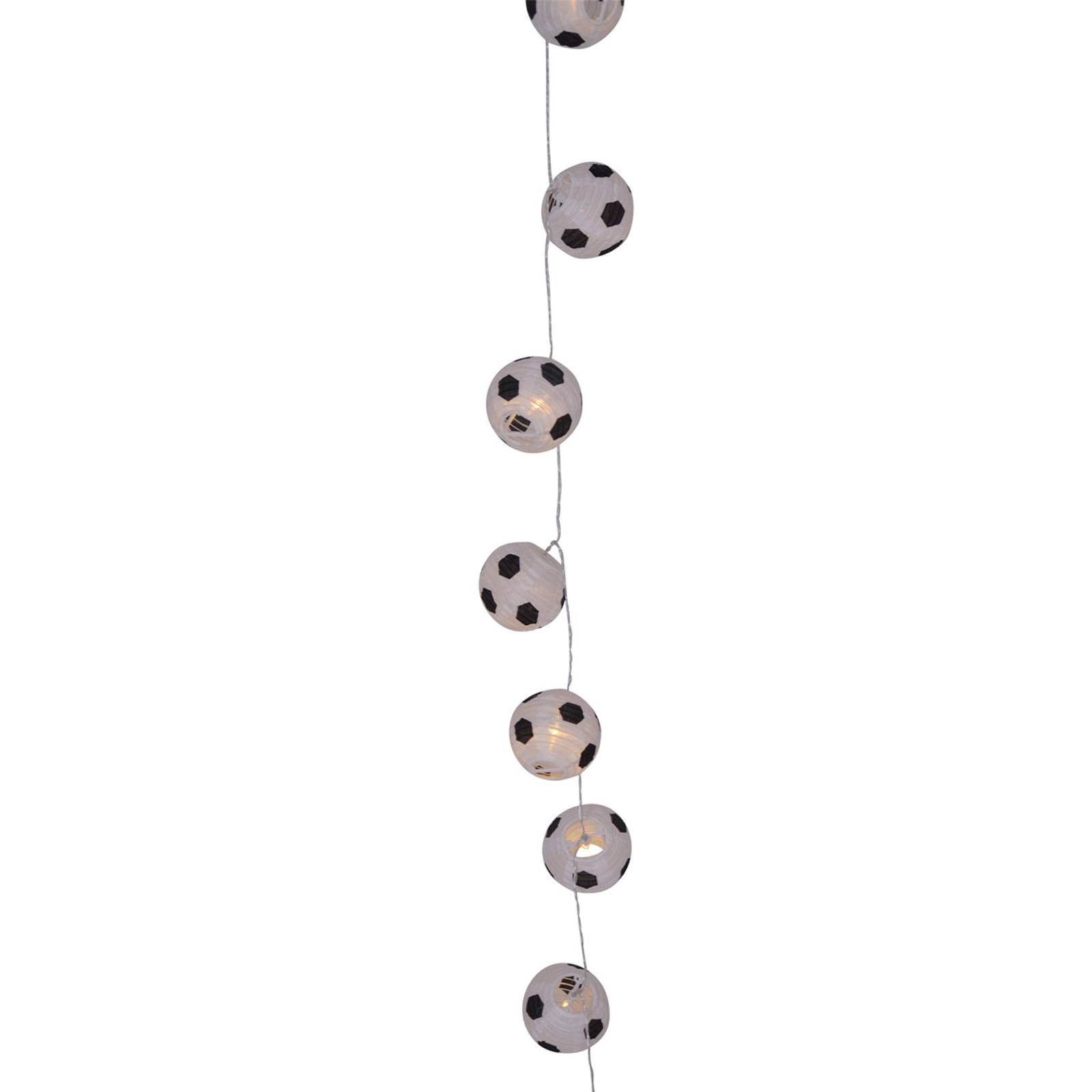 LED-valoketju Kizi, jalkapallot, paristokäyttö