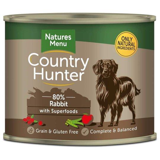 Natures:menu Country Hunter Dog Rabbit 600 g