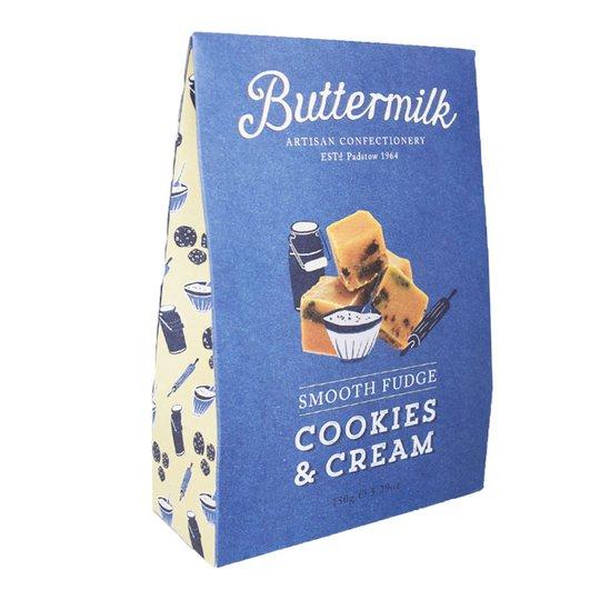 "Godis Fudge ""Cookie & Cream"" 150g - 72% rabatt"