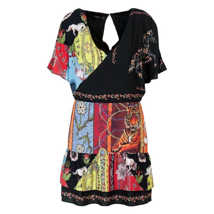 Desigual Women's Dress Black 165225 - black 38