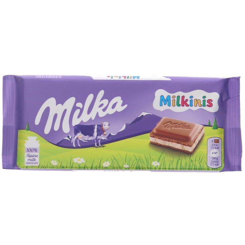 Mjölkchoklad Milkinis - 23% rabatt