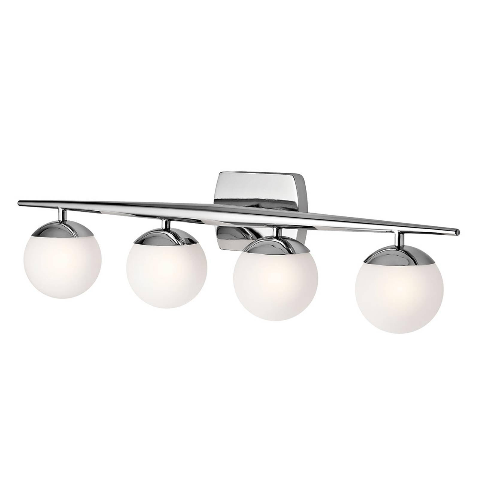 LED-vegglampe til bad Jasper, 4 lyskilde