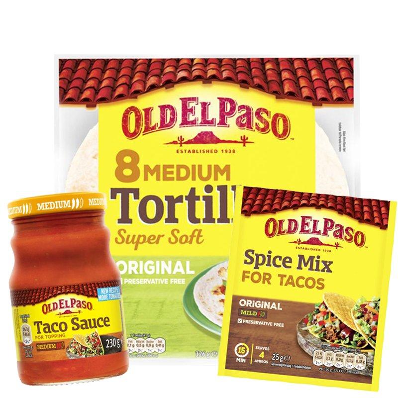 Taco-paketti - 78% alennus