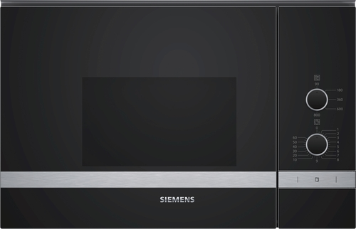 Siemens Bf520lmr0 Iq300 Inbyggd Mikrovågsugn - Rostfritt Stål