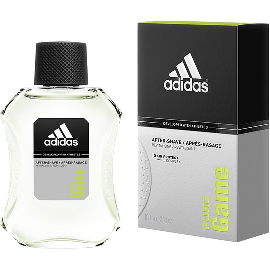Pure Game, 100 ml Adidas Parranajon jälkeen