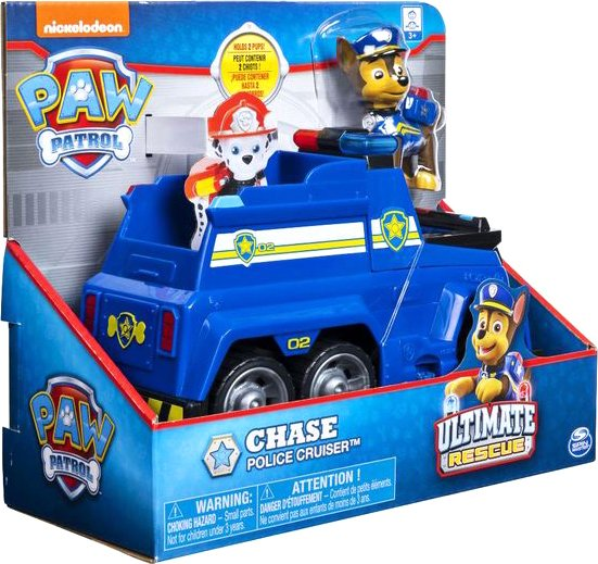 Paw Patrol - Ultimate Themed Vehicles - Chase (6044192C)