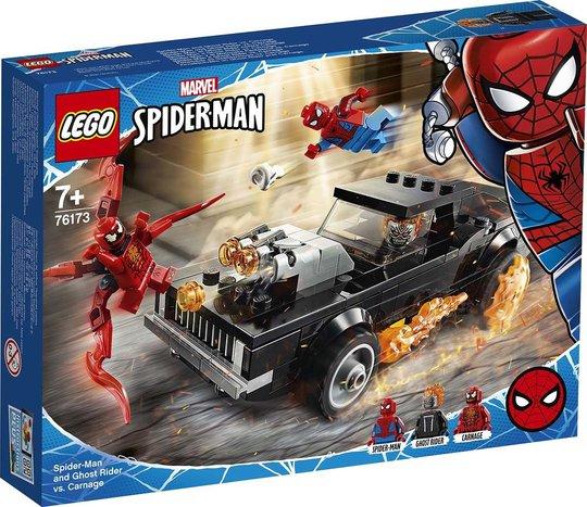 LEGO Super Heroes 76173 Spider-Man Og Ghostrider Mot Carnage