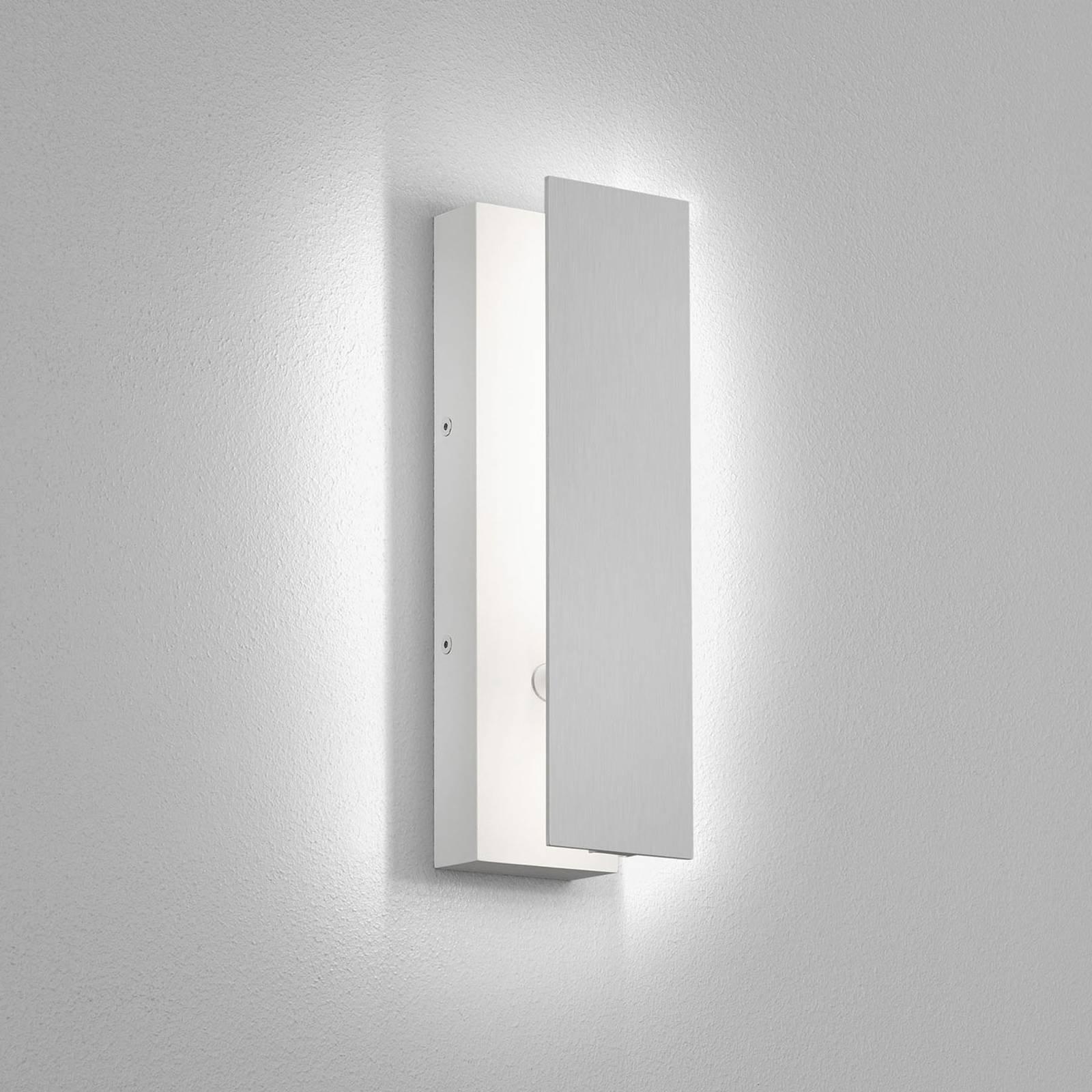 Helestra Dex LED-vegglampe med justerbar front