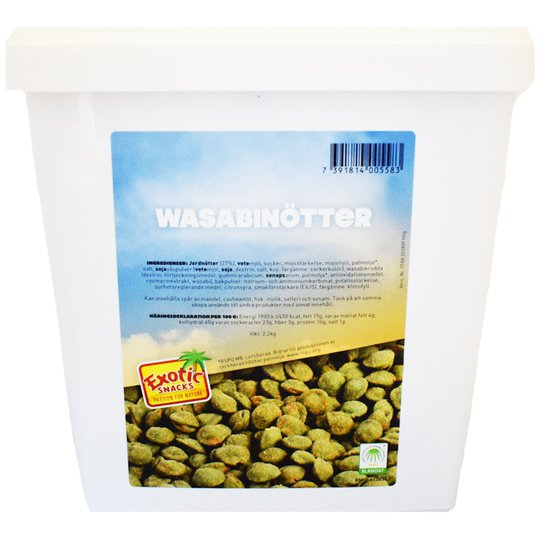 Wasabinötter - 57% rabatt
