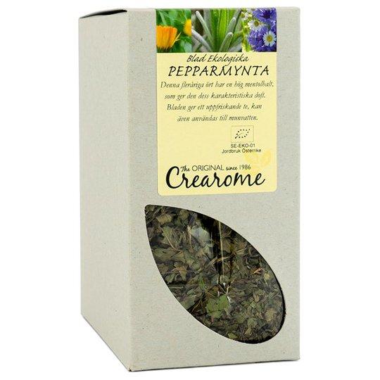 Crearome Ekologiska Pepparmyntsblad, 100 g
