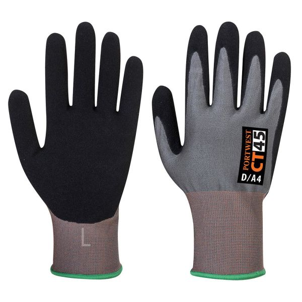 Portwest CT45 Handske grå/svart XS