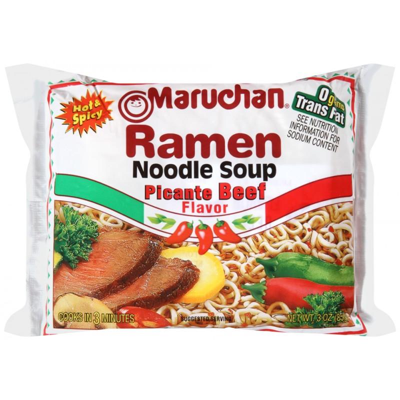 Maruchan Ramen Noodles - Picante Beef 85g