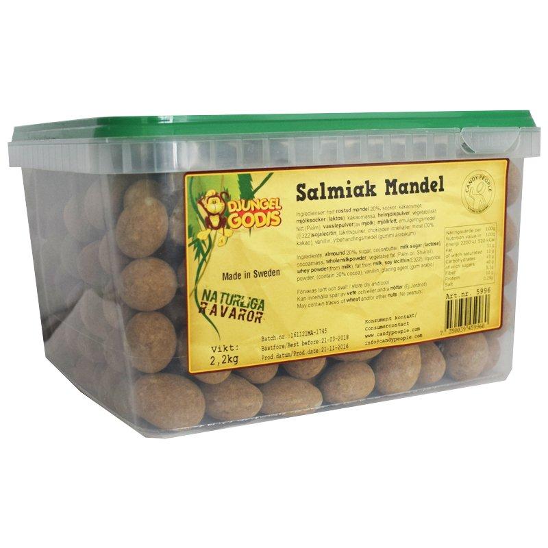 Hel Låda Salmiakmandel 2,2kg - 67% rabatt
