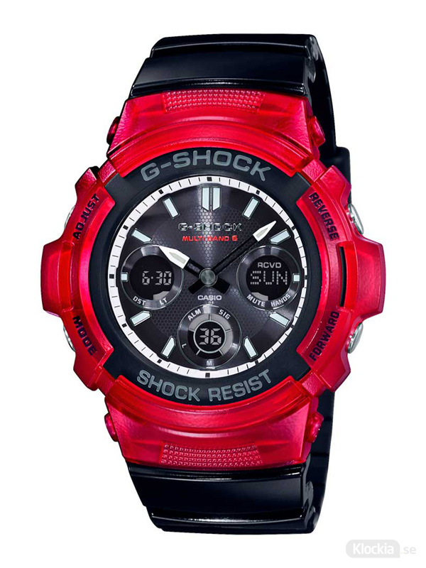 Herrklocka CASIO G-Shock Basic AWG-M100SRB-4AER