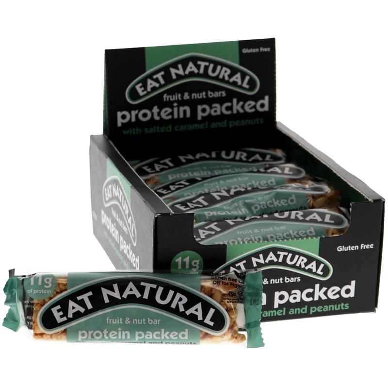 Nötbars Salt Karamell & Jordnötter 12-pack - 44% rabatt