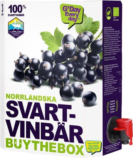 Norrländska Svartvinbärjuice - 20% rabatt