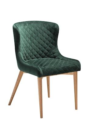 Stol Vetro Velour - Emerald Grön