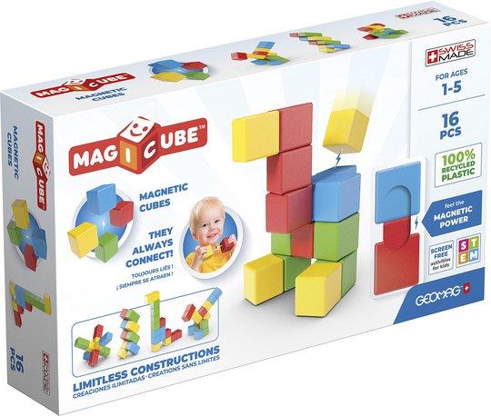 Geomag Byggesett Magicube Full Color Try Me