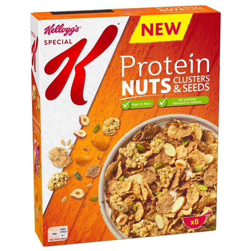 Aamiaishiutaleet Protein Nuts - 44% alennus