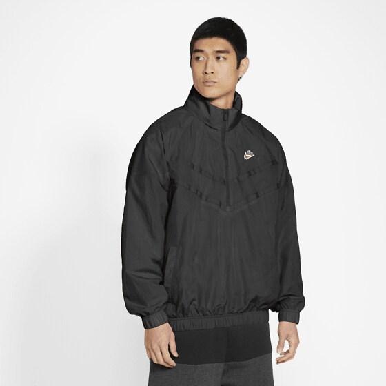 Nike M Nsw He Wr+ Lnd Hz Hd Jkt Jackor BLACK