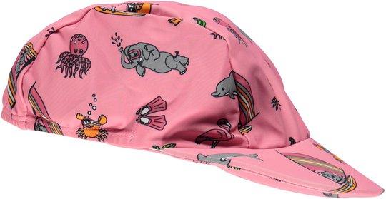 Småfolk UV50 Kaps, Sea Pink, 62-68