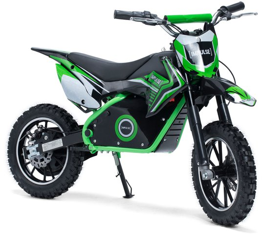 Impulse Electric Dirt Bike 500 W, Grønn