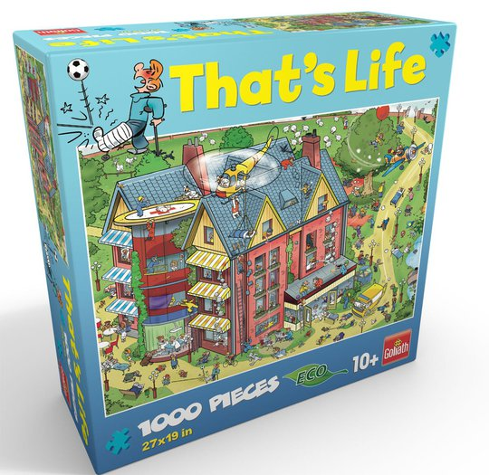 Goliath Games Puslespill That's Life - Hospital 1000 Brikker