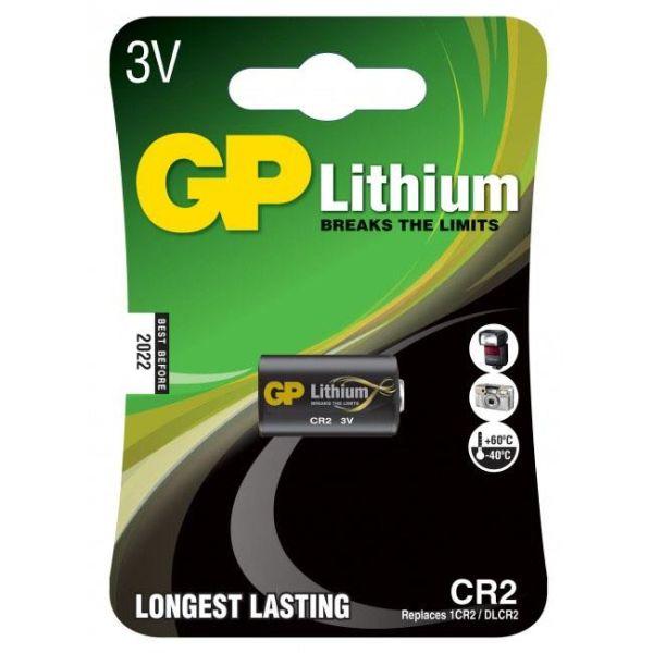 GP Batteries CR 2-C1 Fotobatteri litium, 3V