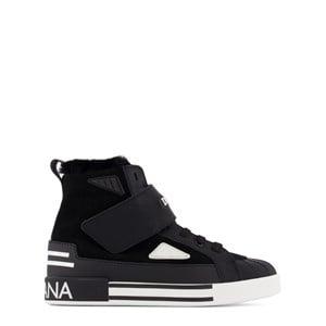 Dolce & Gabbana Logo Hi-Top Sneakers Vita 24 (UK 7)
