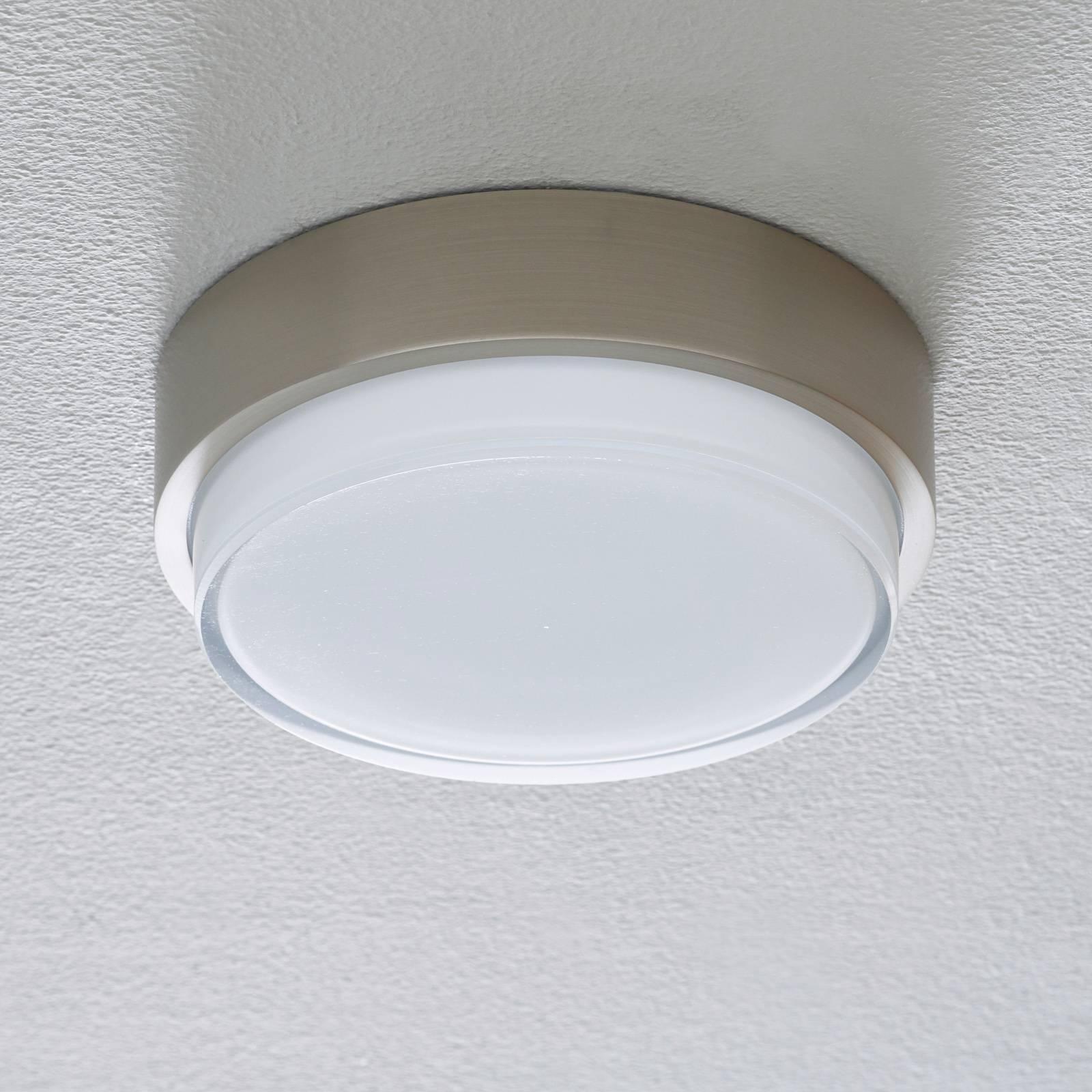 BEGA 50536 LED-kattovalo 930 teräs Ø21cm