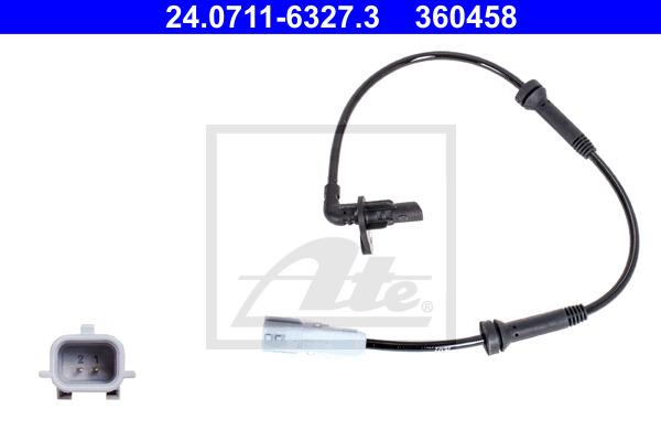 ABS-anturi ATE 24.0711-6327.3