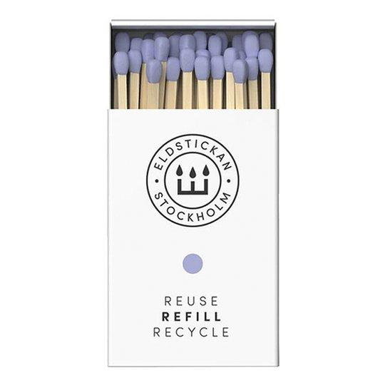 Eldstickan - Tändstickor Refill 60 st Lavendel