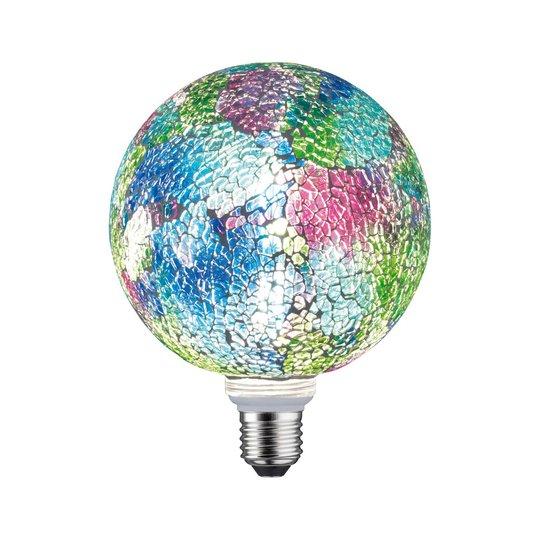 Paulmann E27 LED-Globe 5W Miracle Mosaic sekoitus