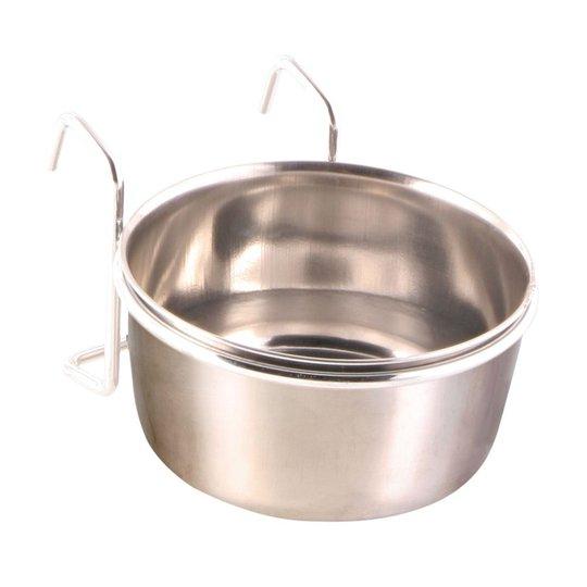 Trixie Foderskål Rostfri med Hållare 300 ml