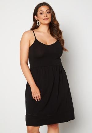 Only Carmakoma Kallon Life SL Knee Dress Black 46/48 (M)