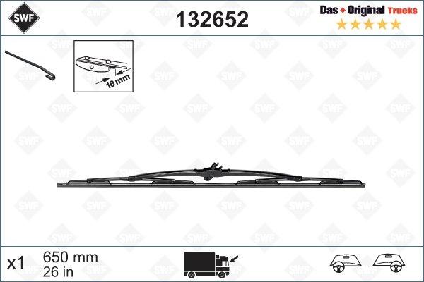 Torkarblad 650mm