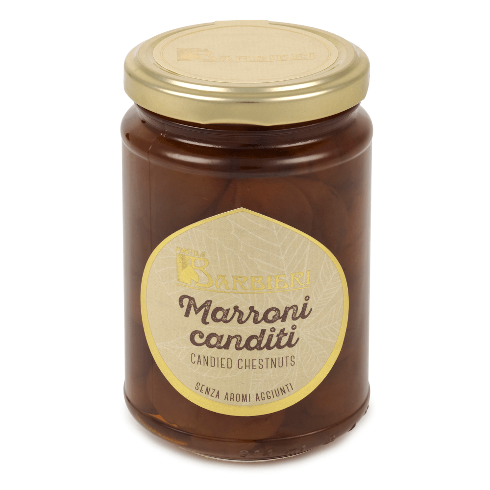 Candied Chestnuts in Syrup 400g by Pianetta di Barbieri