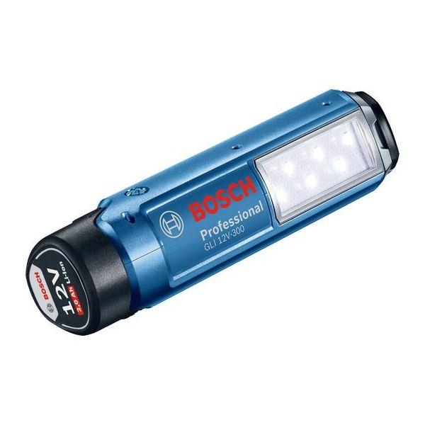 Bosch GLI 12V-300 Arbeidslampe uten batterier og lader