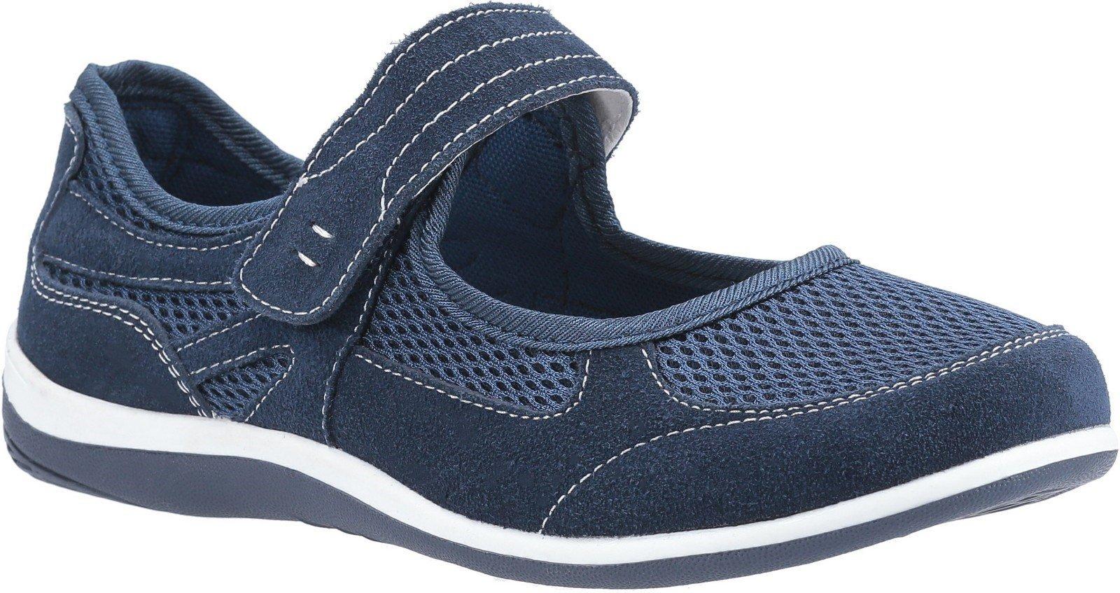 Fleet & Foster Women's Morgan Touch Slip on Sandal Various Colours 30110-51113 - Navy 3