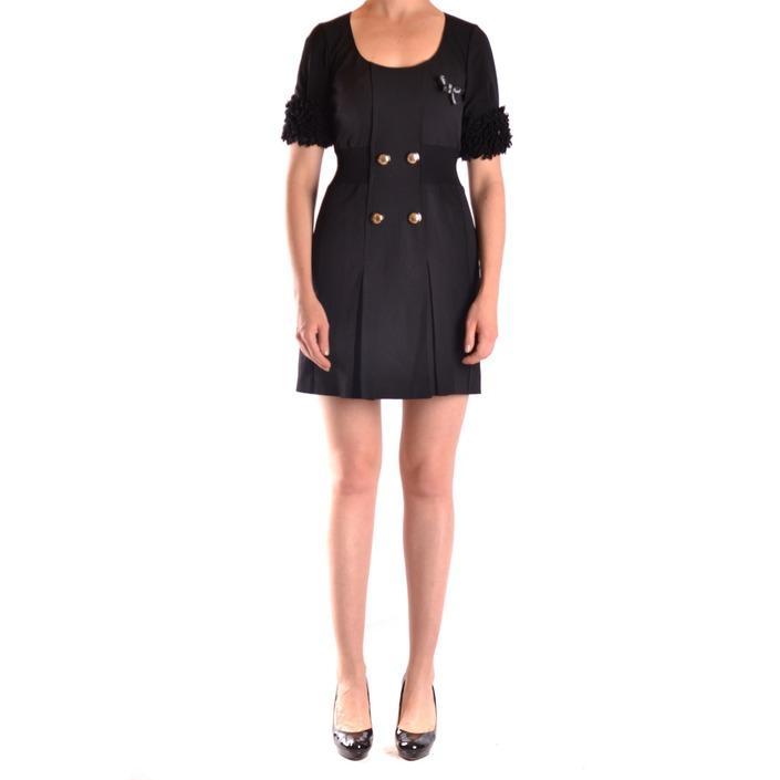 Frankie Morello Women's Dress Black 169732 - black 42