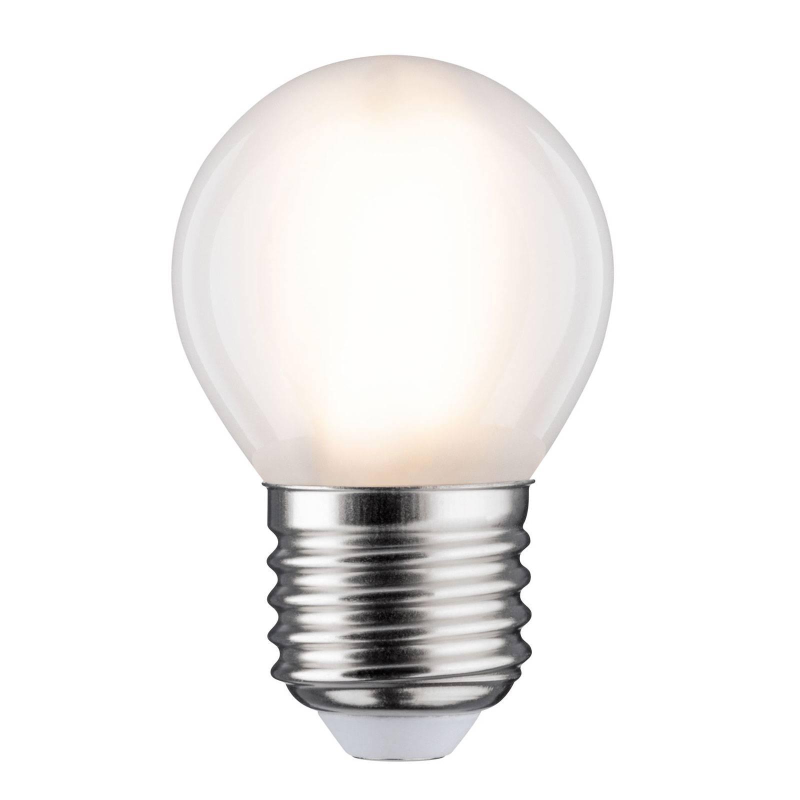 LED-lamppu E27 5W pisara 2 700 K matta