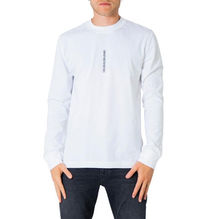 Calvin Klein Jeans Men's T-Shirt Various Colours 305644 - white XS