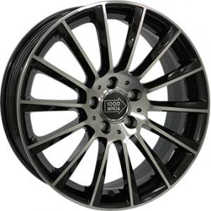 Mille Miglia MM047S Gloss Black Polished 9x20 5/120 ET35 B64.1
