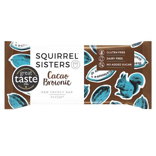 "Rawbar ""Cacao Brownie"" 2 x 20g - 69% rabatt"