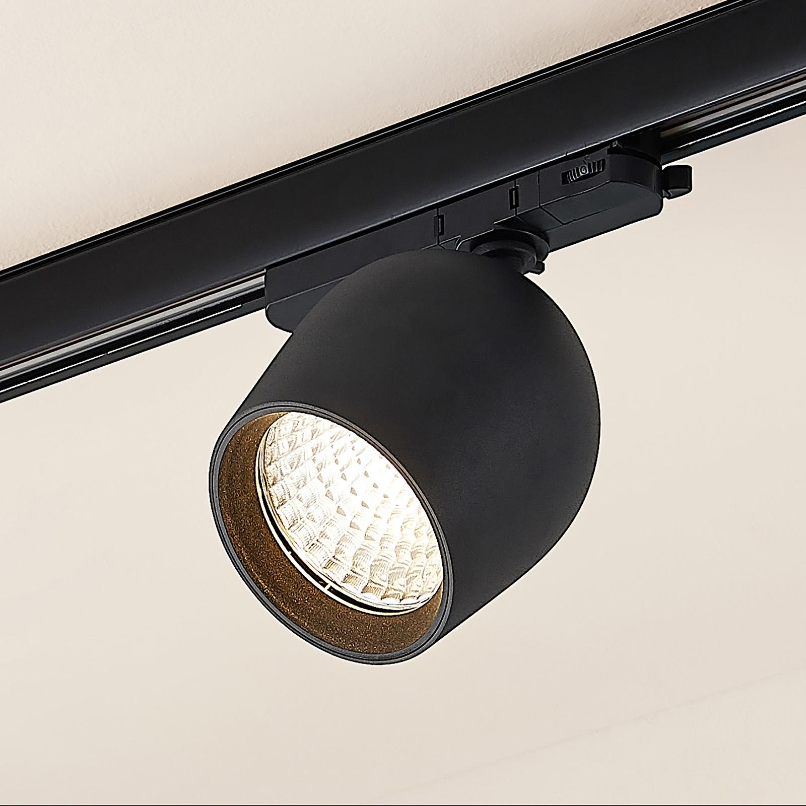 Arcchio Bauke LED-kiskospotti musta 30,5W 3 000 K