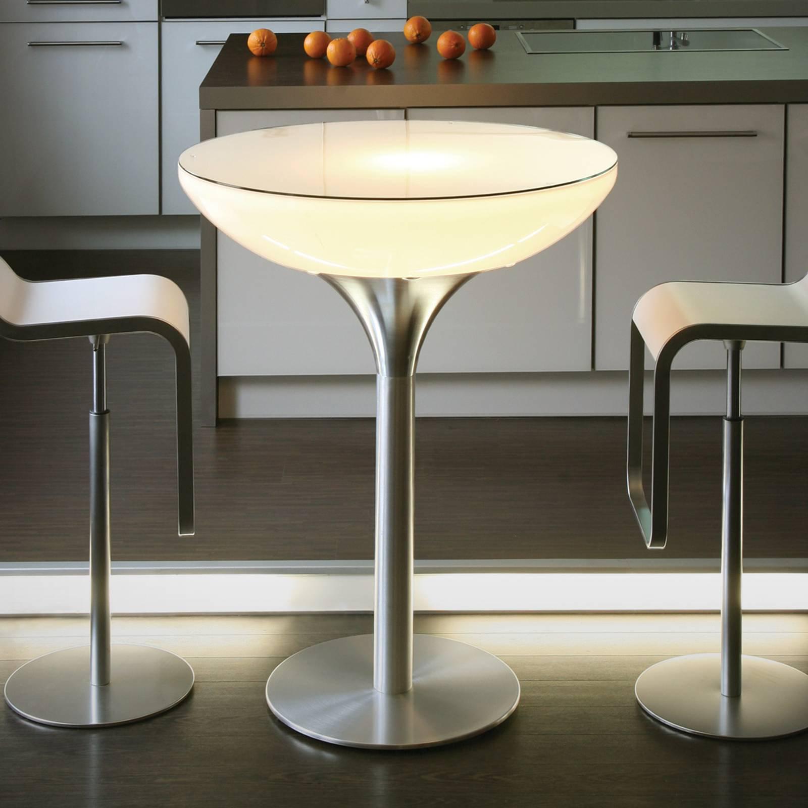 Lounge Table Indoor lysbord H 105 cm