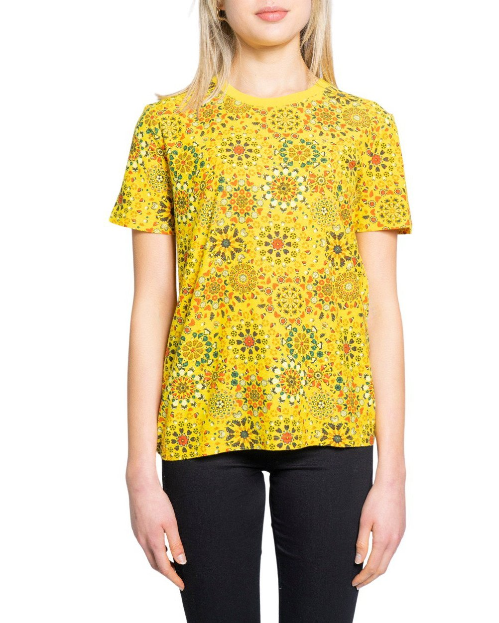Desigual Women's T-Shirt Various Colours 189400 - yellow XL