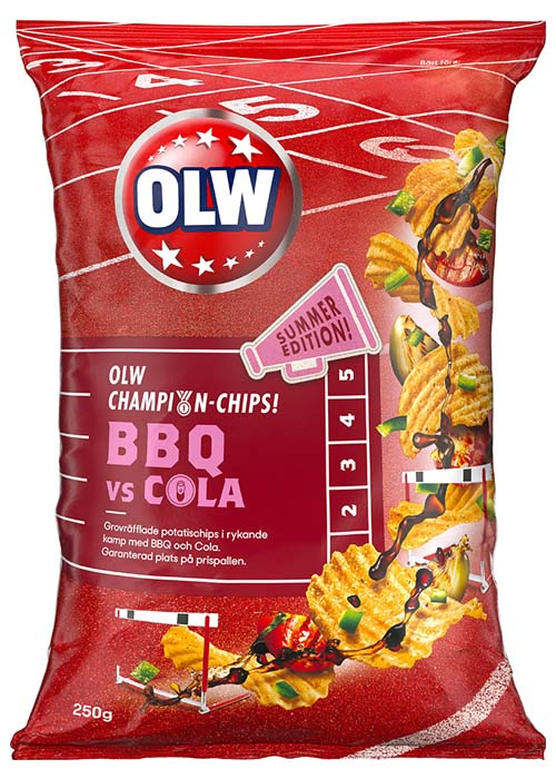 OLW BBQ VS Cola 250g